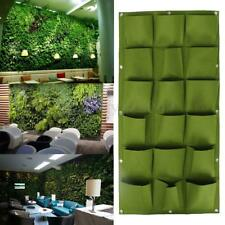 Wall Hanging Flower Succulent Plant Planter Seed Grow Bag   Sack Herb Pot