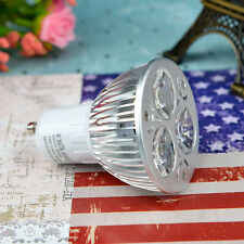 New Dimmable GU10 led 9W CREE bulb home yellow lamp light spotlight 3x3W white