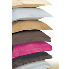 Wholesale 500TC Ultra Soft 2PC Pillow Shams Solid 100%Cotton All Sizes & Colors