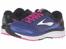 BROOKS GHOST 9 BLUE BLACK PINK 2017 WOMENS RUNNING SHOES  **FREE POST AUSTRALIA
