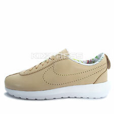 Nike WMNS Roshe Cortez NM LIB QS [843847-200] NSW Running Liberty Tan/Volt-White