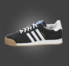 NEW Men's adidas Originals SAMOA Black White Gum Brown BB8981 Superstar a1