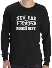 New Dad 2017 Rookie Department Gift for a New Father Long Sleeve T-Shirt