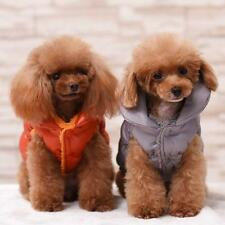 Pet Puppy Clothes Winter Dog Coat Down Jacket Vest Apparel Puppy Outwear Costume