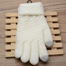 Touch Screen Gloves Women Girl Stretch Knit Gloves Mittens Winter Warm Gloves