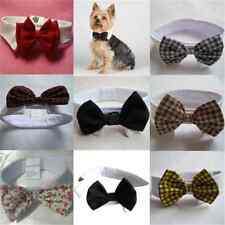 Adorable Cute Dog Cat Pet Puppy Kitten Toy Bow Tie Necktie Collar Clothes New FT