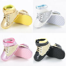 Infant Toddler Baby Boy Wing Crib Shoes Baby Shoes Size Newborn to18 Months New