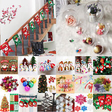 Christmas Tree Decoration Wall Hanging Pendant Home Party Ornament Indoor Decor