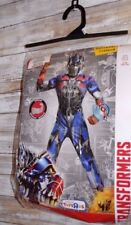 Transformers Boys Optimus Prime Classic Muscle Halloween Costume with Weapon