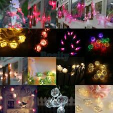Various Battery Operated Indoor Christmas LED Festive String Lights Tree Light