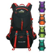 40L Water-resistant Outdoor Climbing Backpack Camping Hiking Rucksack Travel Bag
