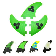 3 PCS/SET Fiberglass Honey Comb Surfboard Fins Surf Fins FCS/Future G5 G7 SZ M/L