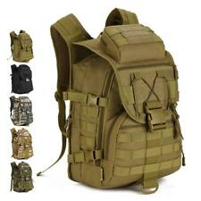 40L Military Army Tactical Molle Assault Camping Hiking Hunting Backpack Bag