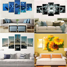 Hot 5pcs Unframed Modern Painting Canvas Wall Art Oil Painting Home Decoration