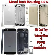 BACK BATTERY REPLACEMENT HOUSING COVER HARD METAL CASE FOR IPHONE 5