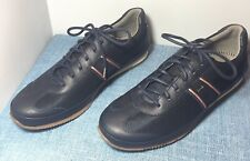 MSRP $315 New in Box Paul Smith Fuzz Midnight Mesh Leather Suede Trainer Sneaker