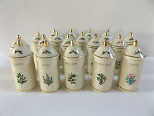 Replacement Lenox Spice Jar Spice Garden 1992 Matching Sealed Lid More Options