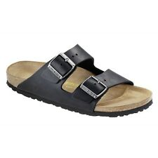 Birkenstock Arizona Sandals - Color Black - Natural Leather