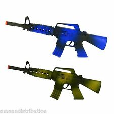 KIDS TOY MACHINE GUN ARMY POLICE SOLDIER ASSAULT RIFLE SAME WITH SOUND VIBRATION