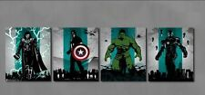 Oil Painting HD Print on Canvas Decor Wall Art ,The Avengers 4PC