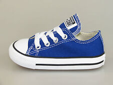 Converse AllStar Kids CT OX Radio 742373C radio Blue + new + all sizes