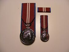 Queens Diamond Jubilee Medal Court Mounted QDJM