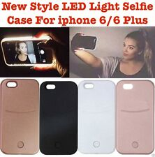 Latest Selfie LED Light Up Case Cover LuMe Style for iPhone 5 5S SE 6 6S Plus