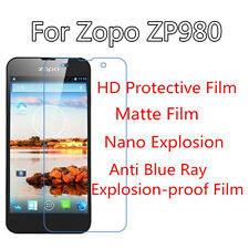 3pcs For Zopo ZP980 HD Clear/Matte/Nano Explosion/Anti Blue Ray Screen Protector