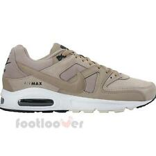 Shoes Nike Air Max Command Leather 694862 200 Running Man Moda White Beige Suede