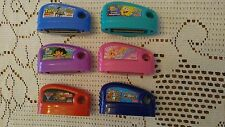 Fisher Price Smart Cycle 6 Game Cartridges Dora SpongeBob Cars Toy Story Barbie