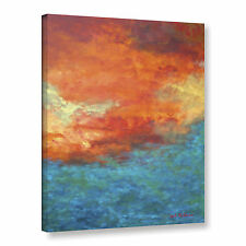 Lake Reflections II' Gallery wrapped Canvas Art Print