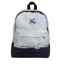 Embroidery Printing Backpack Women Casual Canvas Backpack School Bags For Girls