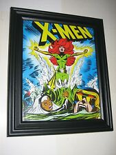 X-Men Pin-up FRAMED #40 Rise Of Dark Phoenix by Dave Cockrum (Cyclops, Storm, Ni