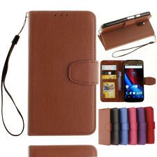 stand wallet Leather Flip case For Google Moto LG Apple Xiaomi Asus HTC Sony