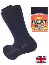 MENS HEAT INSULATERS THERMAL SOCKS 2.3 TOG RATING SIZE 6 - 11 THICK WARM WORK uk