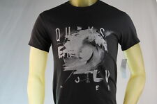 """QUIKSILVER """"THE SEA"""" BLACK GRAPHIC T-SHIRT Size Small/Medium/Large/X-Large/XL"""