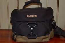 Canon Camera Gadget Bag 100EG Shoulder Waist Black & Olive Green Digital SLR