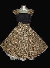 1950s ROCKABILLY SWING DRESS Plus Size 18 to 28 eMo Pin Up Vintage Retro 50s