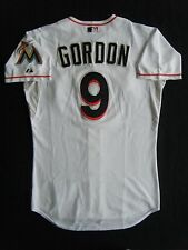 DEE GORDON Miami Marlins GAME-USED jersey MLB Authenticated to his 500th hit!
