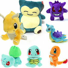 Pokemon Collectibles Plush Character Soft Toys Stuffed Squirtle Child Dolls