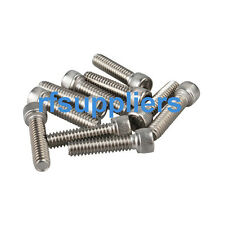"100X kinds of Stainless Steel Hexagon Socket Head Cap Screws #8-32*1/4""/1/2"" New"