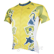 c Men World Cup Short Sleeve Cycling Jersey Bicycle Bike Sportwear Rider D151