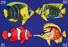 "Tropical Fish Wall Plaque 6""X4""~ Nautical Beach Sealife Decor~ (54) Selections!"