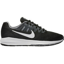 NIKE MENS ZOOM STRUCTURE 20 RUNNING BLACK SHOES **FREE POST AUSTRALIA