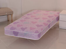 Pink Luxury Budget Mattress, All Sizes, Shorty, Single, Double FREE SHIPPING