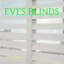 Made to measure Faux wood WHITE with TAPES Plastic venetian blinds
