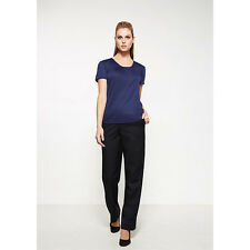 NEW Biz Easy Fit Waist Pant - Straight Leg - 10113