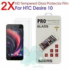 2X Tempered Glass Screen Protector Protection Guard Film for HTC Desire 10 Pro