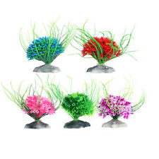 Hot Artificial Water Green Plastic Plant Grass Fish Tank Aquarium Decor Ornament