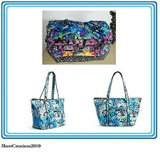 NWT Vera Bradley Miller Bag XL Travel Tote Cotton Multiple Patterns Available